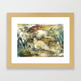 Secrets and Lies Framed Art Print