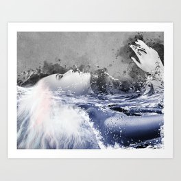 Immersion II Art Print