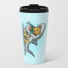 Shark Suit Dog Travel Mug
