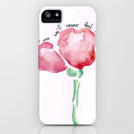 Promise Me iPhone Case