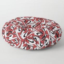 Air Jordan 1 Chi - Collage Print Floor Pillow