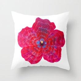 Hibiscus Flower Power Throw Pillow