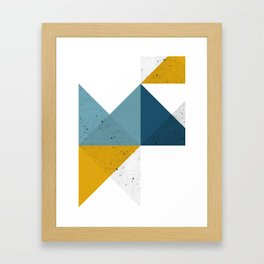 Modern Geometric 19 Gerahmter Kunstdruck