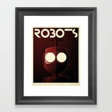 Robots - Nono Framed Art Print