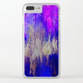 Galaxy Skyline Clear iPhone Case