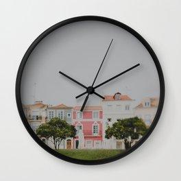 Colourful Row Wall Clock
