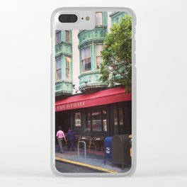 Cafe Zoetrope - City of San Francisco Clear iPhone Case