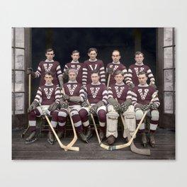 Vancouver Millionaires, 1913 - 1914 season  Canvas Print
