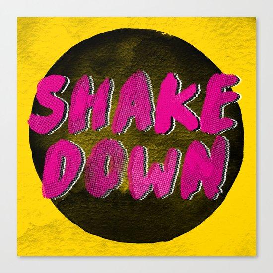 Shake Down Canvas Print