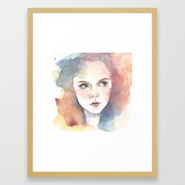 Bright Eyes Framed Art Print