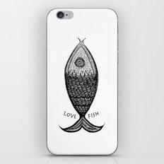 LoveFish iPhone & iPod Skin