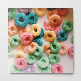 Fruit Loops II Metal Print
