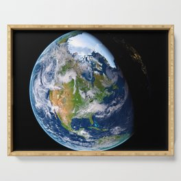 Planet Earth Serving Tray