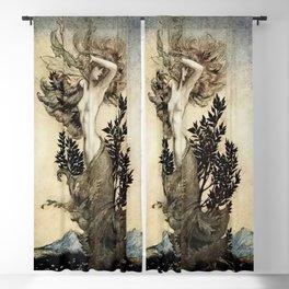 """Daphne Root Bound"" by Arthur Rackham Blackout Curtain"