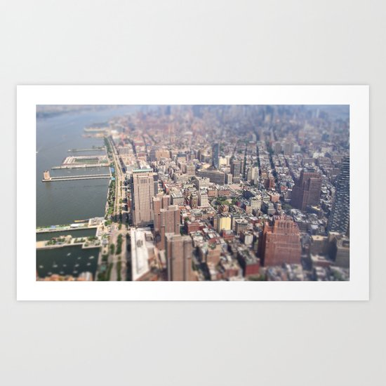 Tiny City - New York City Art Print