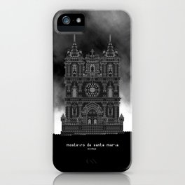 HexArchi - Portugal, Alcobaça, Mosteiro de Santa Maria . Igreja iPhone Case