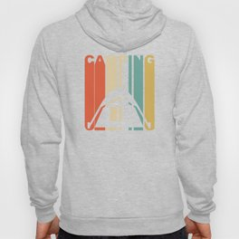 Vintage 1970's Style Camping Graphic Hoody