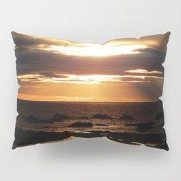 Golden Sunset Delight Pillow Sham