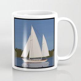 Ondene, Nereia Herreshoff, Sailboat Coffee Mug