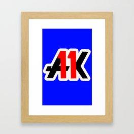 Krieger fever Framed Art Print