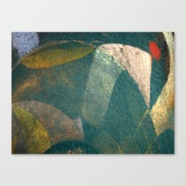 The Monk and the Bicycle Canvas Print