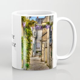 French Village Pouilly-sur-Loire in Spring, France Coffee Mug