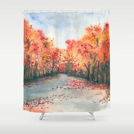 Autumn Journey Shower Curtain