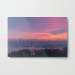 Cleveland Skyline #2 Metal Print