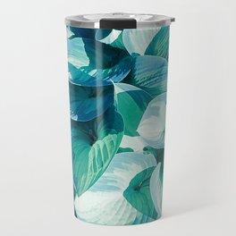 Botanic leafage Travel Mug