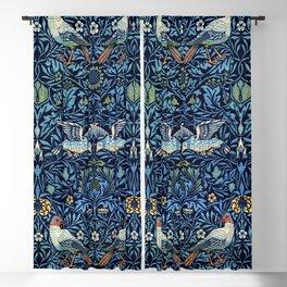 Wool curtain: Bird (1877-1878) by William Morris Blackout Curtain
