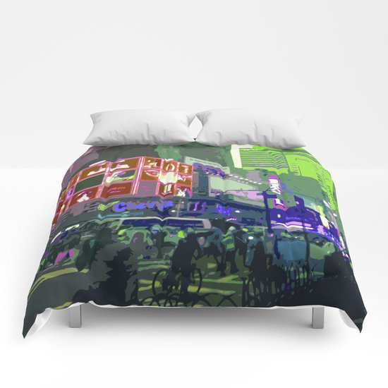 NY#10 Times Square3 Comforters