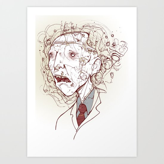 DR. Art Print