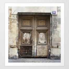 "No. 1, ""Doors of Paris Series"" Art Print"