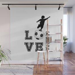 Eat, Sleep, Play  Love Volleyball Wall Mural