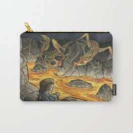 Alice & The Jabberwocky Carry-All Pouch