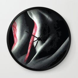 Cover me up #1 Wall Clock
