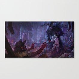 Mauthias, the Dark Father Canvas Print