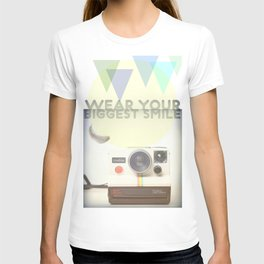 WEAR YOUR BIGGEST SMILE T-shirt