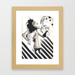 Tim Burton's Vincent Framed Art Print