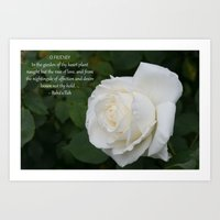 The Rose Of Love Art Print
