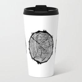 Growing Old - Tree Rings Travel Mug