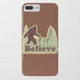 Bigfoot Believe iPhone Case