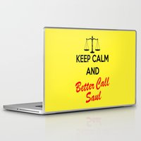 lawyer Laptop & iPad Skins featuring Better Call Saul by DeBUM