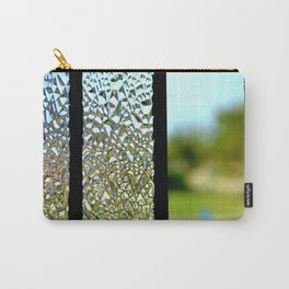 Glass Panes Carry-All Pouch