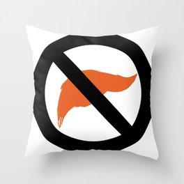 ANTI TRUMP Official logo Throw Pillow