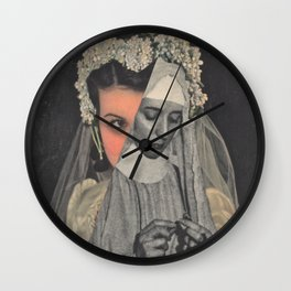 Wedded To The Idea Wall Clock