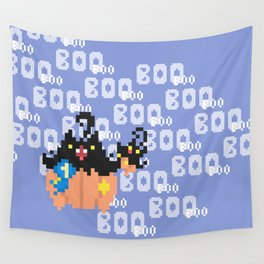 Blue Ribbon Pumpkaboo Wall Tapestry