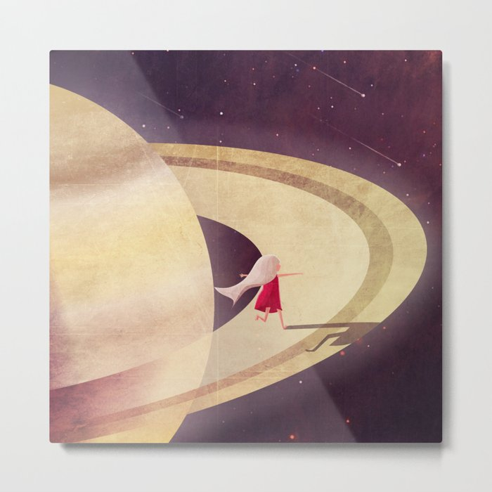 Saturn Child Metal Print