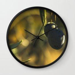 Olives #2 Wall Clock