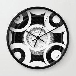 Circle Abstract Wall Clock